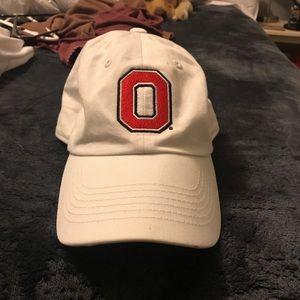 White Ohio state hat